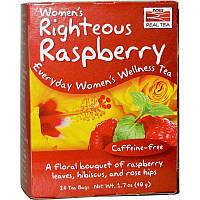 Малиновый чай специально для женщин, Womens Righteous Raspberry Tea Now Foods, 24 bags