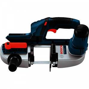 Аккумуляторная ленточная пила Bosch GCB 18 V-LI Professional (каркас)