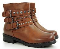 Демисезонные женские ботинки из нового коллекции весна-осень