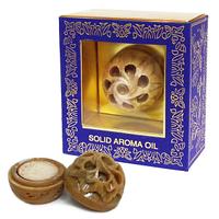 """Сухие духи """"Янтарь"""" (Amber, Song of India, R-Expo) в каменной шкатулочке"""