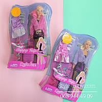 Кукла с нарядом DEFA платье, обувь, аксессуары на листе, 22-33-5,5см