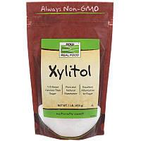 Ксилитол натуральный подсластитель, Xylitol Now Foods,  454 g