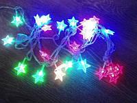 Новогодняя гирлянда Звездочки 40 LED 5,8 м