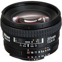 Объектив Nikon AF 20mm f/2.8D (JAA127DA)