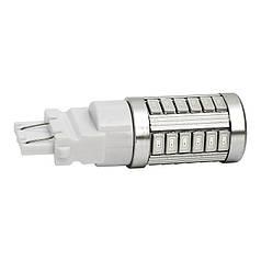 Светодиодная лампа LED T25 W21 / 5 Вт 7443 13 СМД DC12V 5050 из светодиодов ЦВЕТ / красный