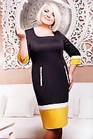 Платье женское, батальное Френка Разные цвета