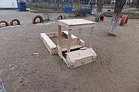Машинка - песочница для детской площадки