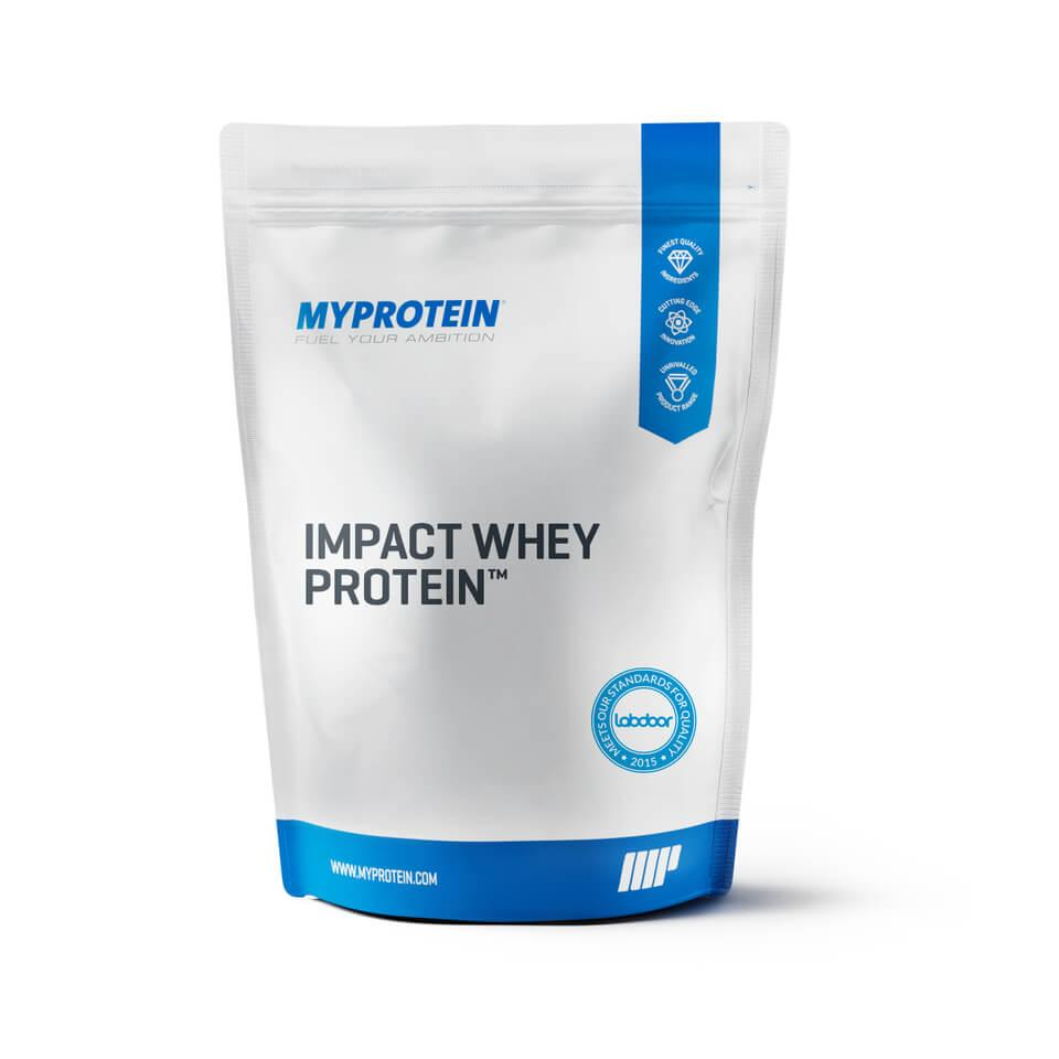 Протеин MyProtein Impact Whey Protein 5 kg без вкуса