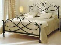 Металлическая кровать кованая 5