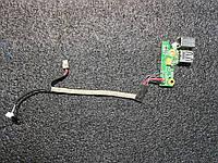 Плата разъем подключения питания USB DDAT8APB3005207 НОУТБУКА Hp Compag 6710b