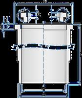 89530110 | Гільза MB 130.0 OM541/OM542 з охолодж. каналом (в-во Kolbenschmidt)