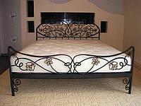 Кровать кованная  металлическая 6