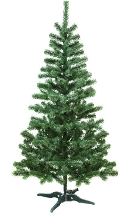 Искусственная елка 3 метра (ель) ПВХ-Италия, пушистый ствол на подставке