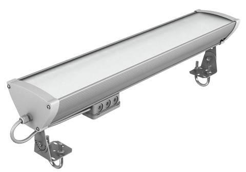 Изминение потребляемой мощности светильников компании ЛЕД Эффект