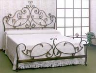 Кровать кованая 10