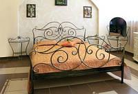 Кровать кованая 11