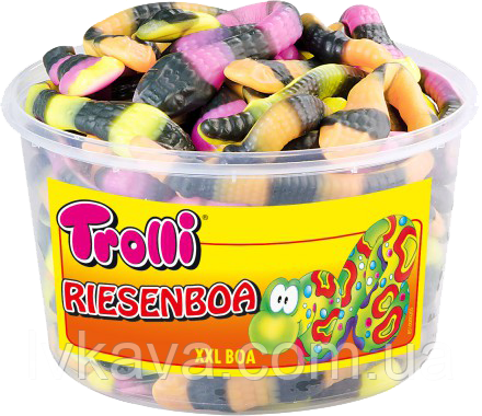 Желейные конфеты Trolli Riesenboa  , 960 гр