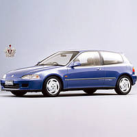Автостекло, лобовое стекло на HONDA (Хонда) CIVIC HatchBack (1992 - 1995)