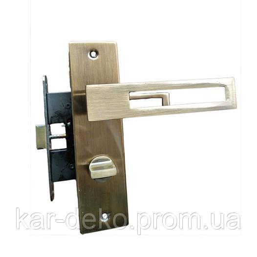 Дверные ручки межкомнатные с защелкой Unilock