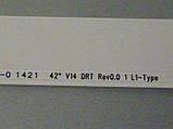 """Светодиодные LED-линейки 42"""" V14 DRT Rev0.0 (матрица LC420DUN-PGA1)., фото 4"""