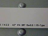 """Светодиодные LED-линейки 42"""" V14 DRT Rev0.0 (матрица LC420DUN-PGA1)., фото 7"""