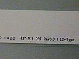"""Светодиодные LED-линейки 42"""" V14 DRT Rev0.0 (матрица LC420DUN-PGA1)., фото 8"""