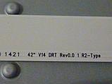"""Светодиодные LED-линейки 42"""" V14 DRT Rev0.0 (матрица LC420DUN-PGA1)., фото 9"""