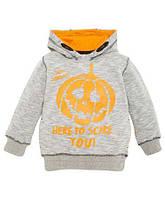 Пуловер свитшот с капюшоном для мальчика р.104,116 KIKI&KOKO (Германия)