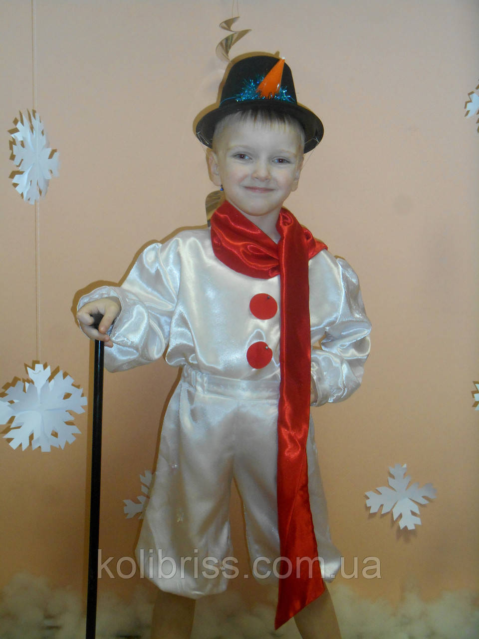 Костюм снеговика , снеговик, снеговичок прокат Киев