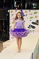 Детский костюм конфетка фиолетовый