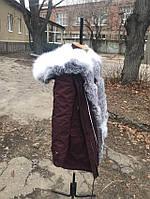 Парка с мехом полярной лисы украинского производства