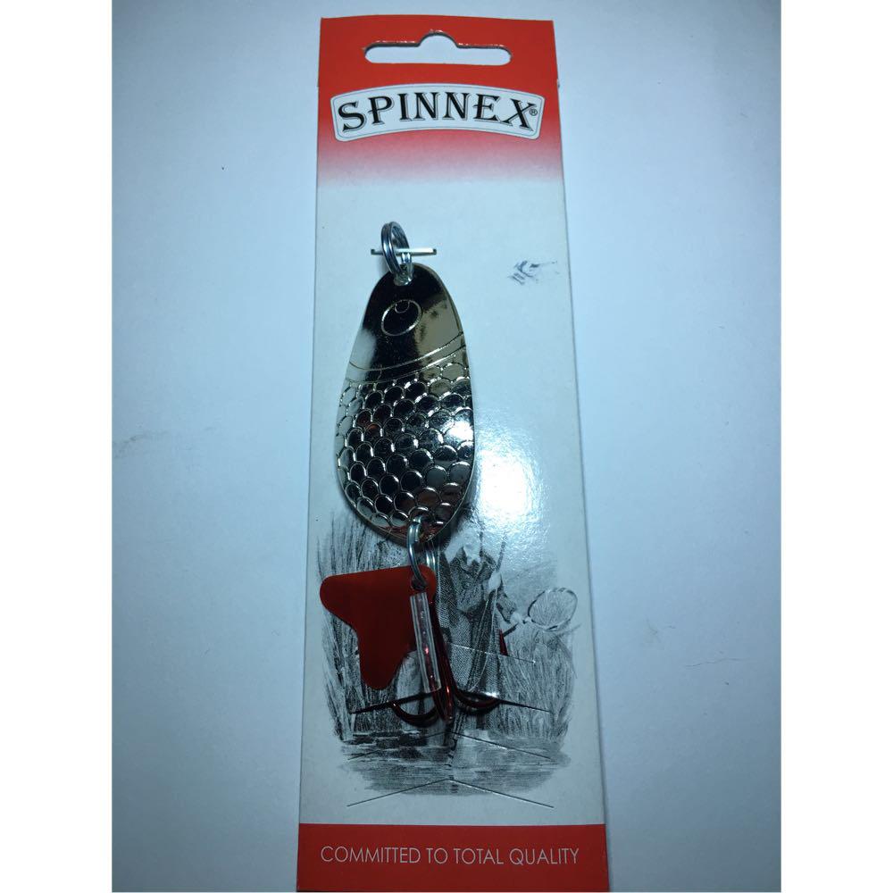 Блесна Spinnex Sima 14g silver