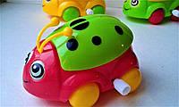 Заводная игрушка божья коровка, двигаются глаза, крылья, 85мм*65мм*50мм, цена за 1 шт., фото 1