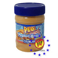 Арахисовая паста Peo's peanut butter crunchy 340г