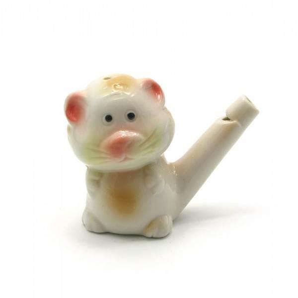Свистулька из керамики Кот