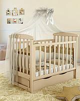 """Детская кроватка Angelo Lux -7  """"слоновая кость"""""""