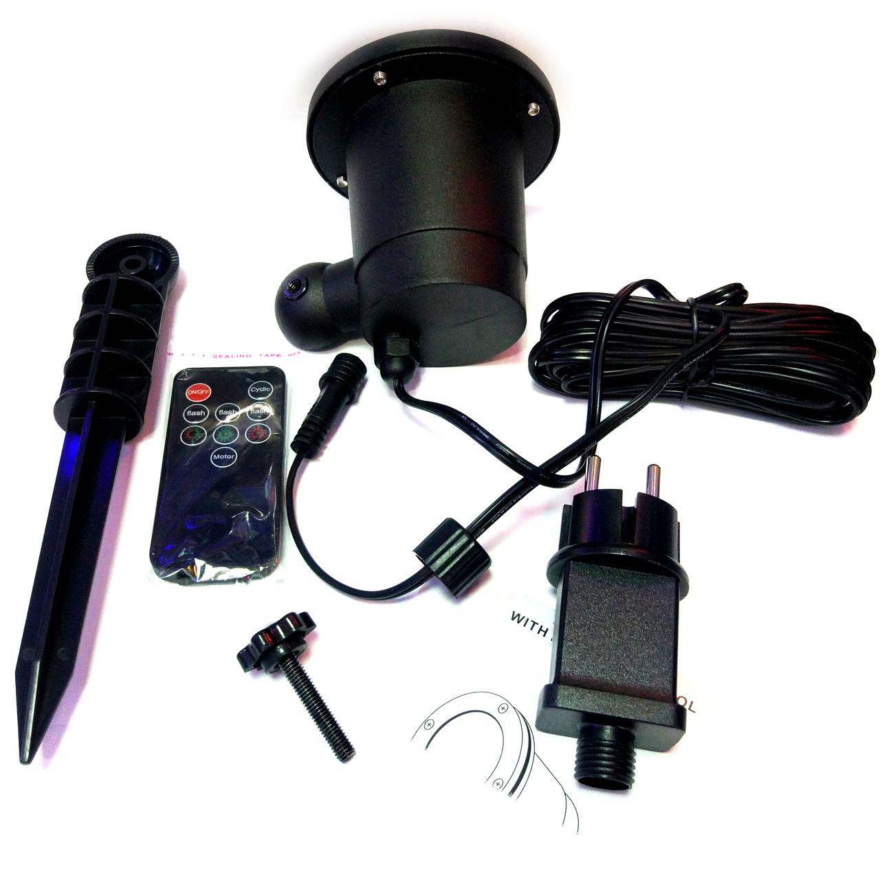 Лазерный дождь, звездный проектор, гирлянда с пультом Star Shower - фото 9