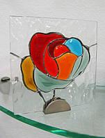 Роза 150х150 мм