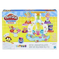 Игровой набор пластилина Play-doh Фабрика мороженого. Оригинал Hasbro B0306