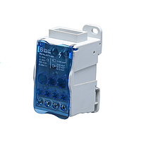 FJ500A Однополярный распределительный блок 1 /11/1000V/500A на DIN-рейку