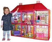 Дом Барби двухэтажный с мебелью My Lovely Villa 6983