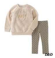 Детский комплект одежды для девочки, кофта и леггинсы,  Juicy Couture