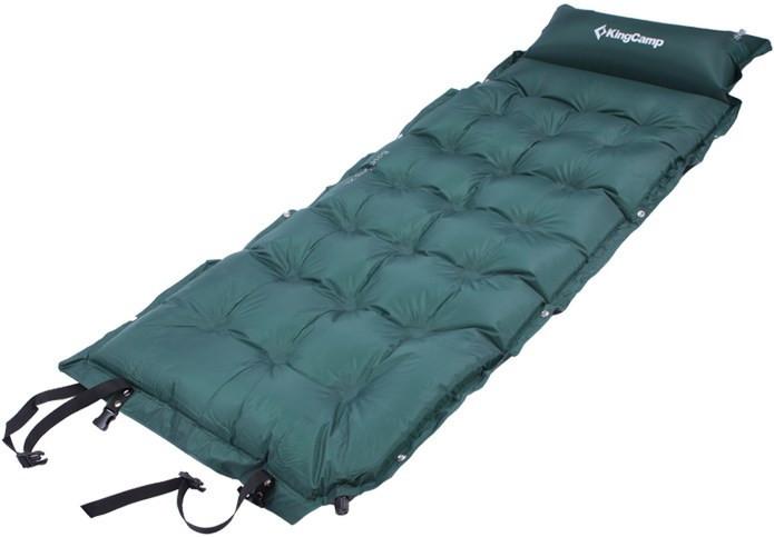 Самонадувающийся килимок KingCamp Base Camp Comfort