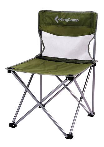 Раскладное кресло KingCamp Compact Chair in Steel M, фото 2