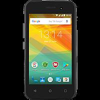 Простой стильный смартфон на 2 сим карты 4 дюйма 4 ядра 0,5/4Gb Prestigio Wize R3