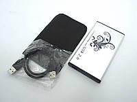 "Карман внешний USB2.0 для HDD 2.5"" SATA 9.5mm Алюминиевый BET-S254BU2 Silver. Поддержка дисков до 3Tb. В комплекте чехол, кабель USB2.0"