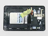 "Матрица с тачскрином для планшета ASUS MeMO Pad ME173X 7.0"" (N070ICN-GB1) Black ORIGINAL. LCD модуль с рамкой (Дисплей + тачскрин)"
