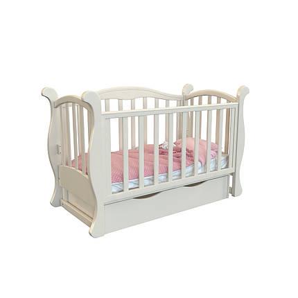 """Детская кроватка -диван  Angelo Lux -6  """"слоновая кость"""", фото 2"""