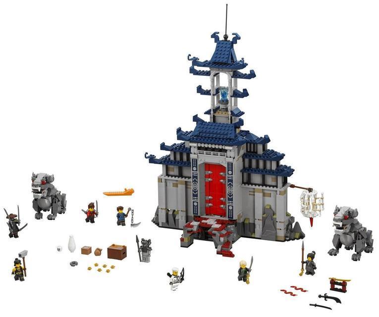 Конструктор Ninjago Movie Bela 10722 Храм Последнего великого оружия 1449 дет