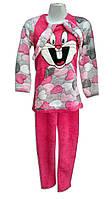 Махровые пижамки для девочек